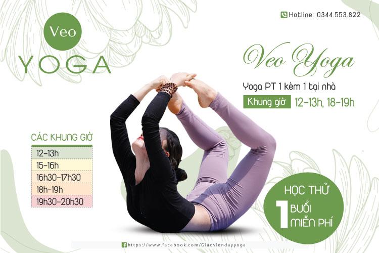 Yoga PT 1 Kèm 1 cùng giáo viên